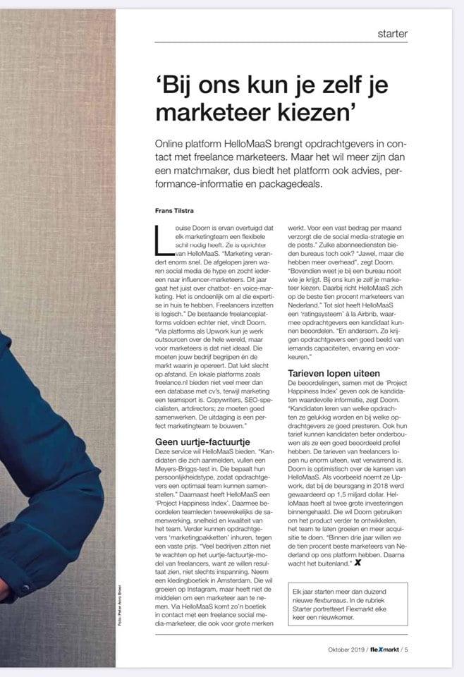 Flexmarkt Interview