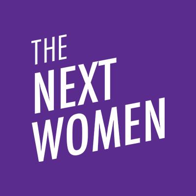the next women logo png