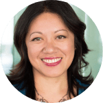 professional picture of Charlene Li who is an co-author to the campaign management and performing marketing teams ebook