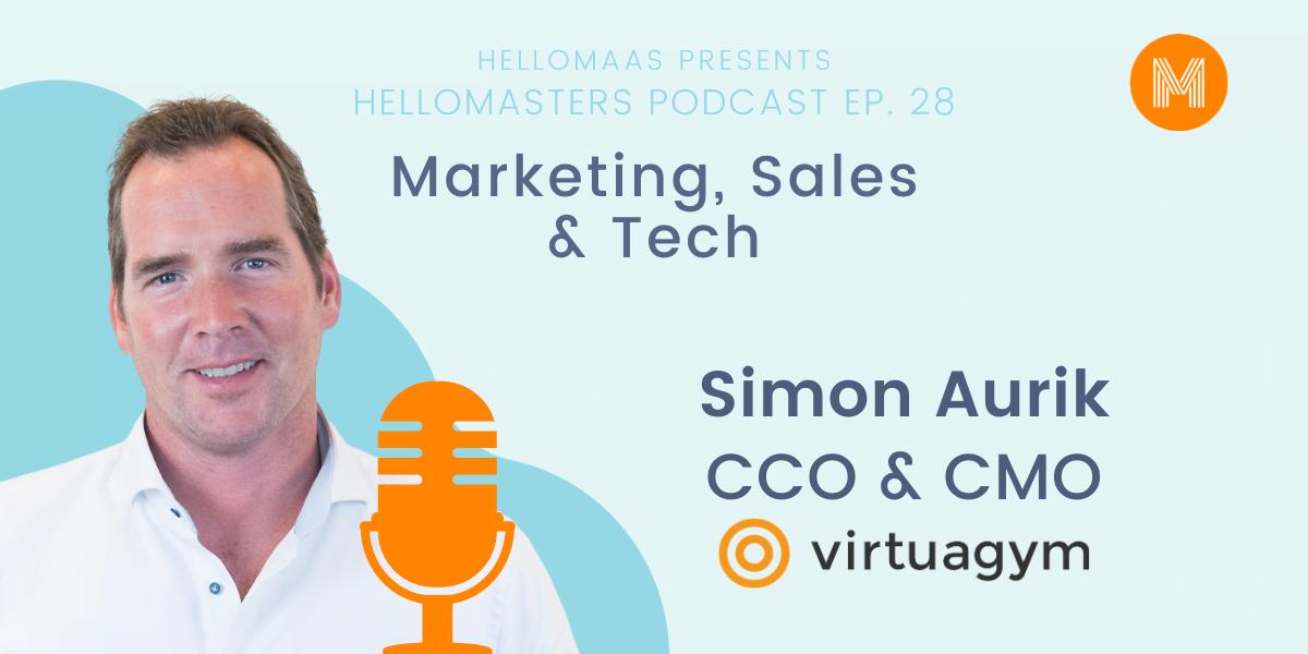 Simon Aurik CCO & CMO Virtuagym